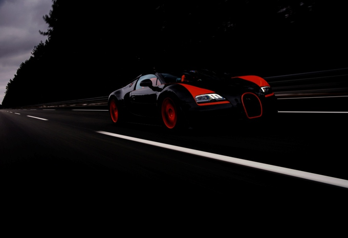 Bugatti Veyron 16.4 Grand Sport Vitesse World Record Car #5