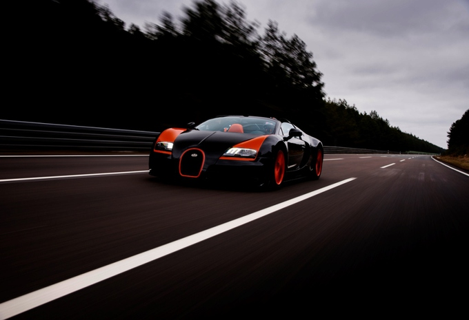 Bugatti Veyron 16.4 Grand Sport Vitesse World Record Car #6