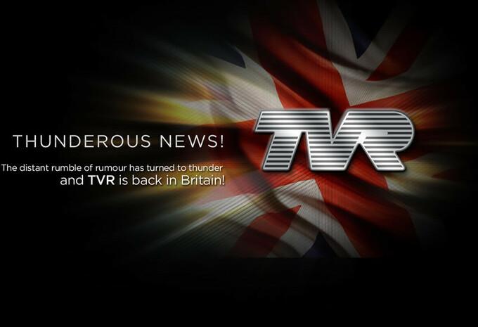 TVR annonce son retour #1