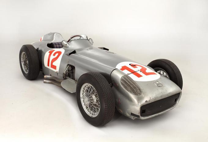 Record d'enchères pour la Mercedes W196 de Fangio #1