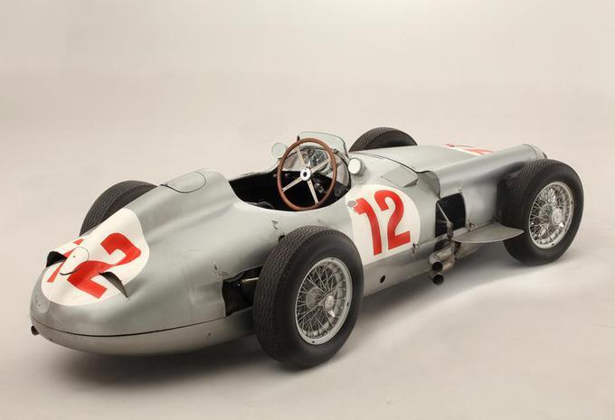 Record d'enchères pour la Mercedes W196 de Fangio #4