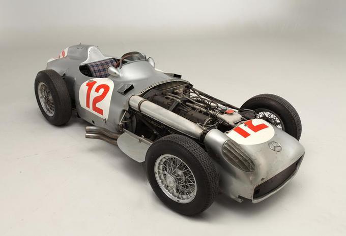 Record d'enchères pour la Mercedes W196 de Fangio #7