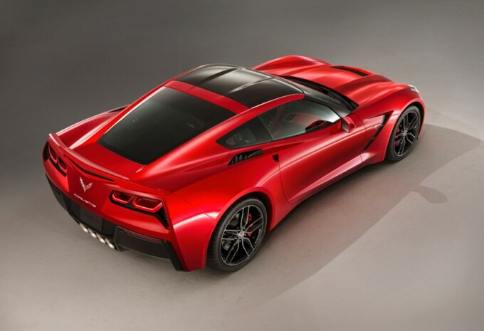 Chevrolet test de C7 Stingray in Europa #2