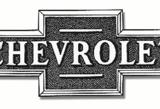 Chevrolet-logo is 100 jaar oud #2