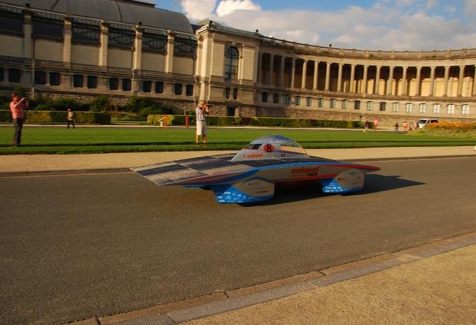 Belgische Indupol One op World Solar Challenge #2