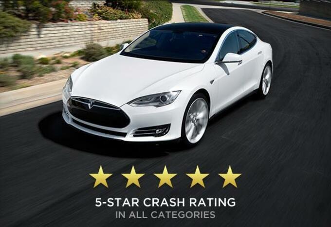 Record d'étoiles pour la Tesla Model S #1