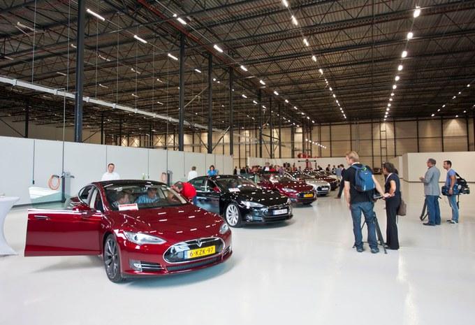 Unité d'assemblage Tesla aux Pays-Bas #3