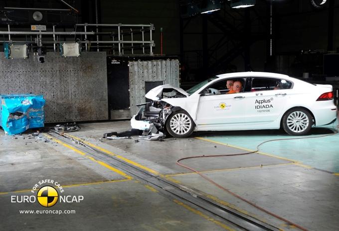 Vijf EuroNCAP-sterren voor Qoros 3 #1