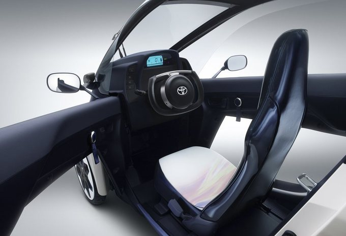 Toyota i-Road in mobiliteitsprogramma #3