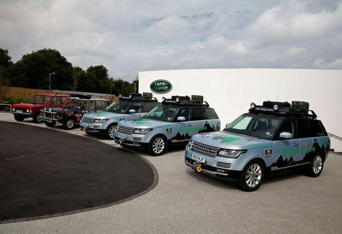 De Zijderoute per Range Rover Hybrid #6