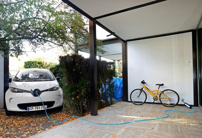 La Renault Zoé sur prise classique #2