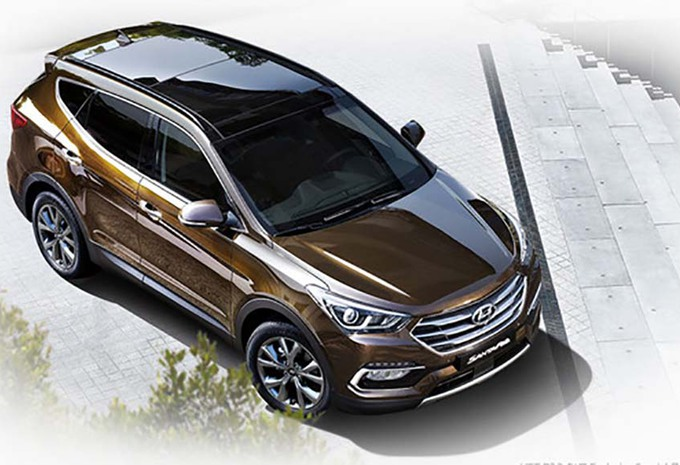 Nieuw Model Nieuwe Hyundai Santa Fe Klaar In Korea