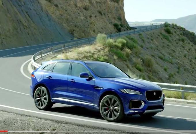 jaguar f pace 2016 sous tous les angles moniteur automobile. Black Bedroom Furniture Sets. Home Design Ideas