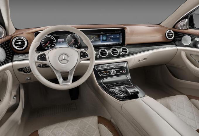 Compacte Keuken Van Grote Klasse : Mercedes onthulde het interieur van de nieuwe E-Klasse, die begin 2016