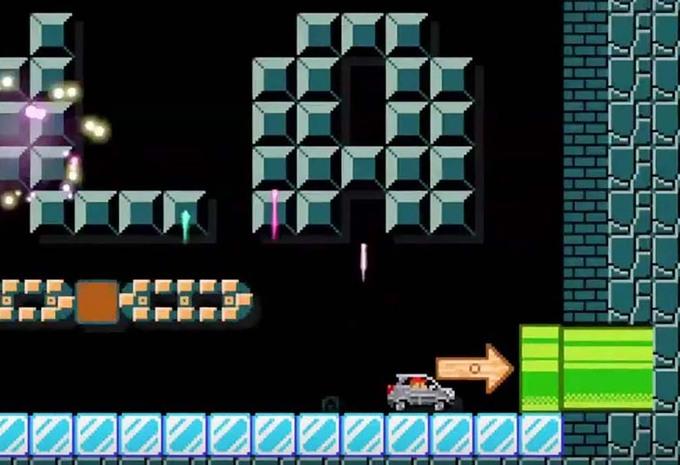 Le Mercedes Gla Roule Pour Nintendo Et Super Mario Moniteur Automobile