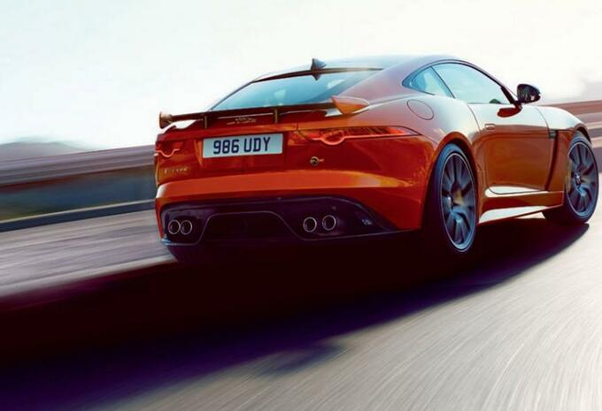Scoop Jaguar F-Type SVR: eerste details - AutoGids