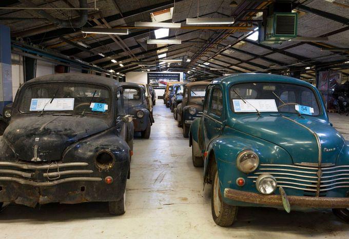 Oude renaults ontdekt in een deense schuur autogids for Garage seat guilherand granges