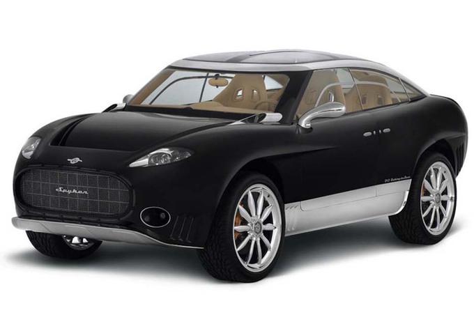 nouveau spyker un suv lectrique en 2017 moniteur automobile. Black Bedroom Furniture Sets. Home Design Ideas