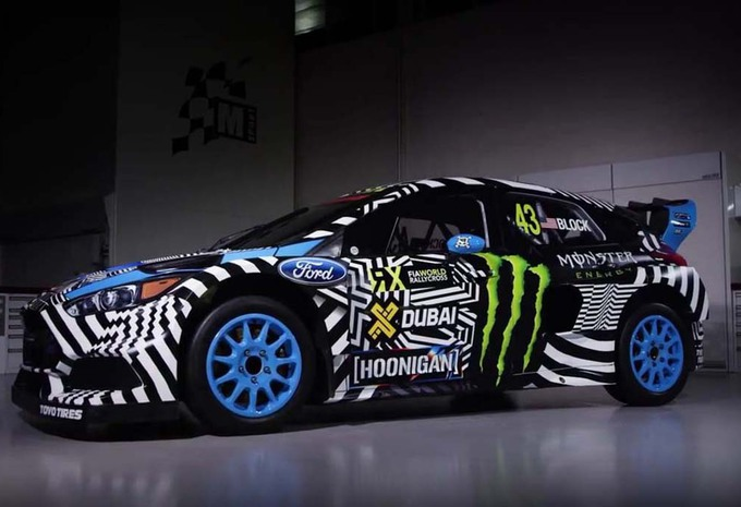 ford focus rs rx 2016 ken block en rallycross moniteur automobile. Black Bedroom Furniture Sets. Home Design Ideas