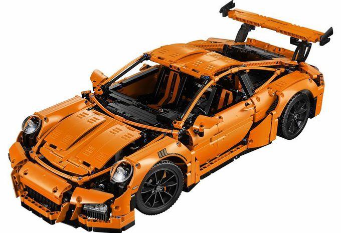 lego technic porsche 911 gt3 rs pistons mouvants moniteur automobile. Black Bedroom Furniture Sets. Home Design Ideas