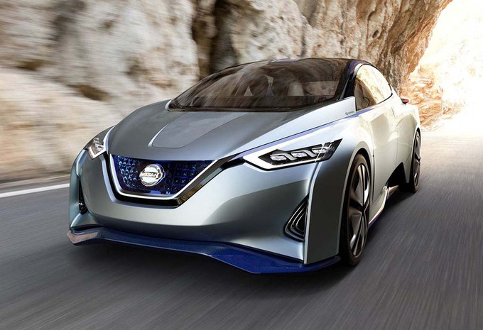 The New Generation Of The Nissan Leaf, Which In 2018 Should Come, Would His  Range Need To Increase. There Is Namely Spoken Of 550 Kmu2026
