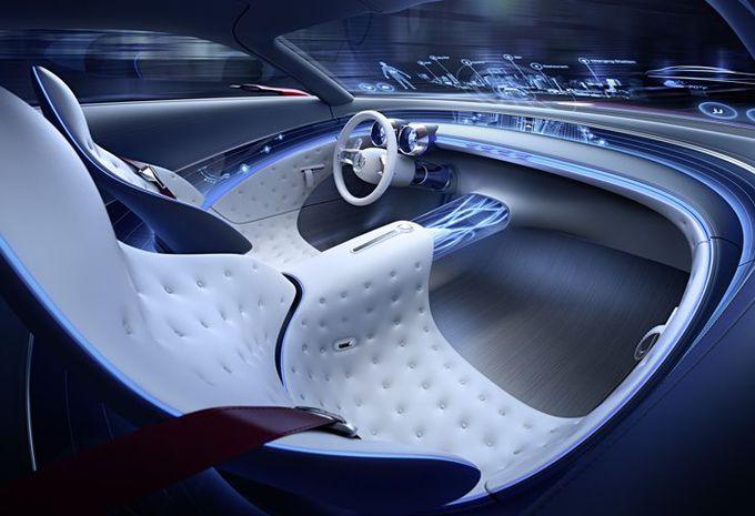 prototype vision mercedes maybach 6 lectrique portes papillon moniteur automobile. Black Bedroom Furniture Sets. Home Design Ideas