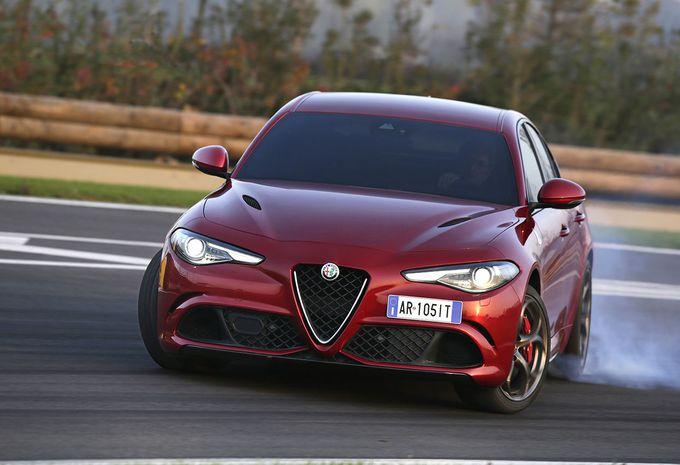 Actualité et Essai FIAT, ALFA, LANCIA Alfa-giulia-record-nuerburgring-1