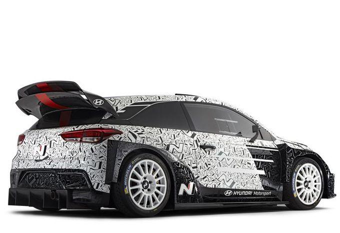 ... WRC en 2017. La 3-portes a été adaptée au nouveau règlement