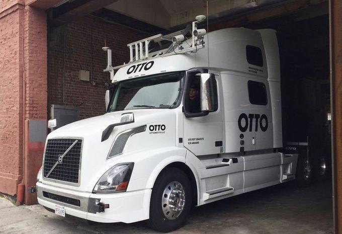 uber otto premi re livraison d un camion sans chauffeur moniteur automobile. Black Bedroom Furniture Sets. Home Design Ideas