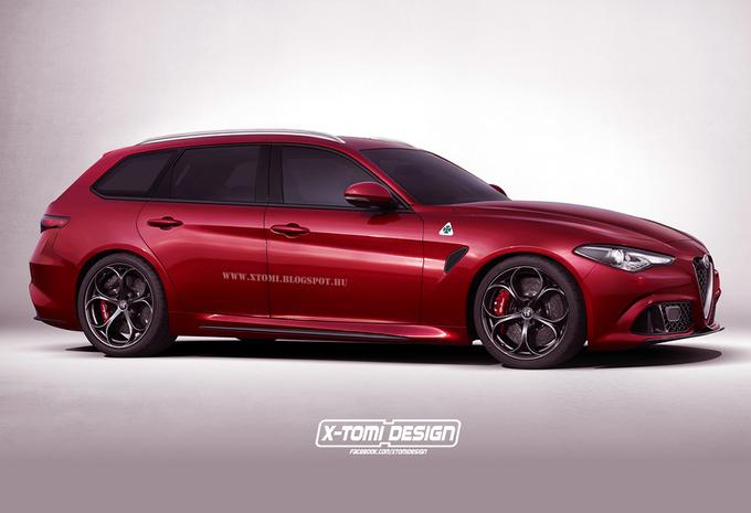 Scoop 2017 Alfa Romeo Giulia Sportwagon - AutoWereld