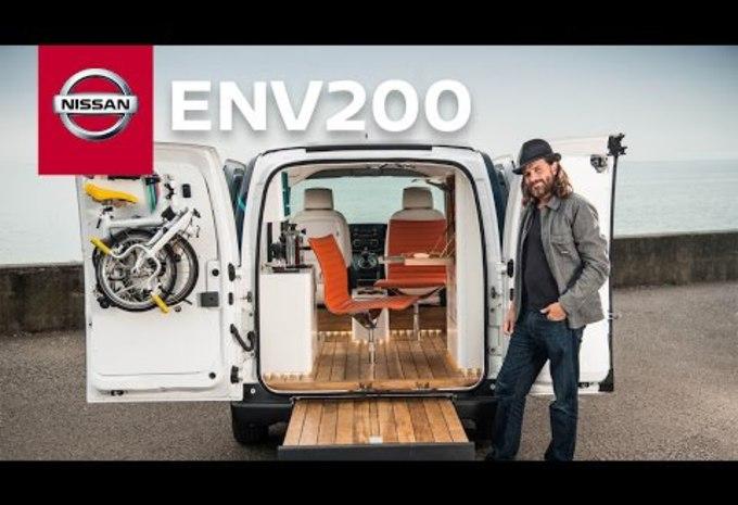Un bureau mobile électrique en Nissan e-NV200 - Moniteur Automobile