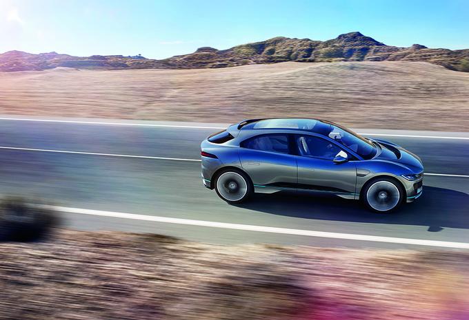 Jaguar I-Pace : concept du futur SUV électrique #4