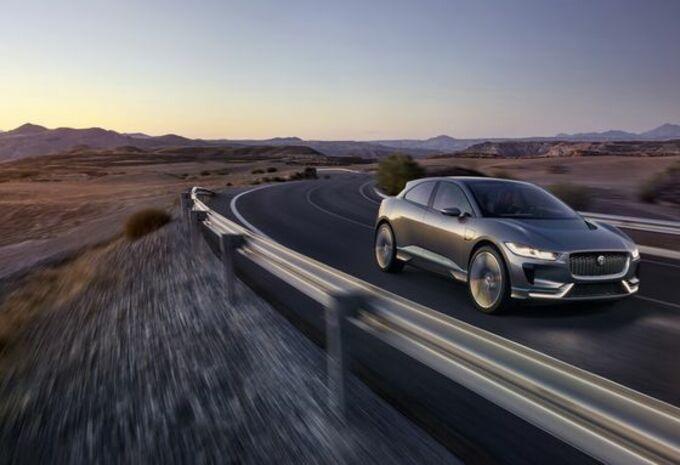 Jaguar I-Pace : concept du futur SUV électrique #15