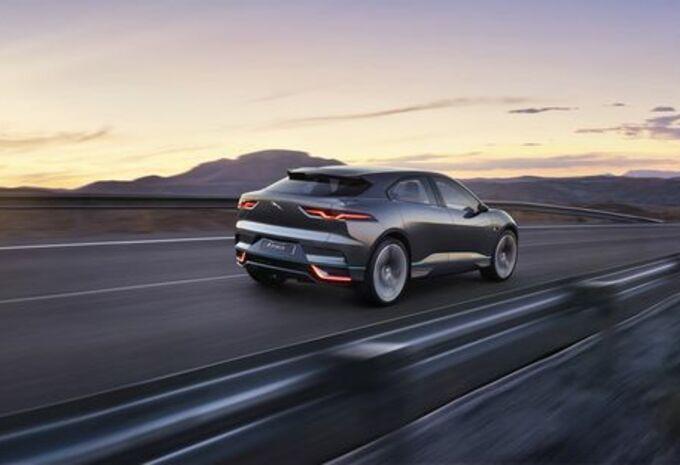 Jaguar I-Pace : concept du futur SUV électrique #16