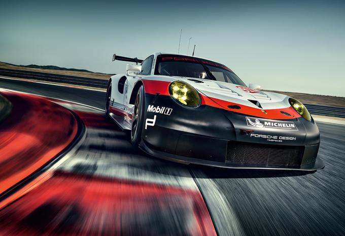 Porsche 911 RSR: moteur en position centrale arrière