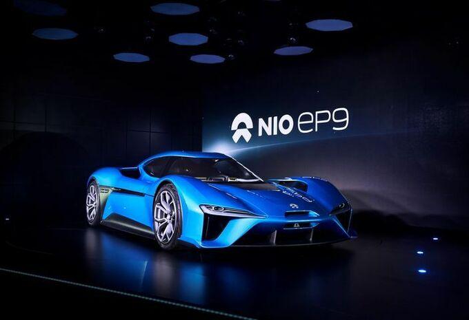 Nio EP9 : la supercar électrique de tous les records