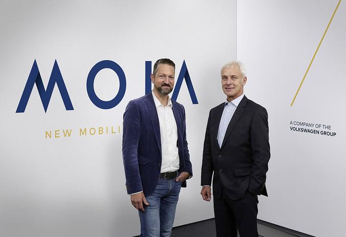 Volkswagen prend le virage de la mobilité avec MOIA