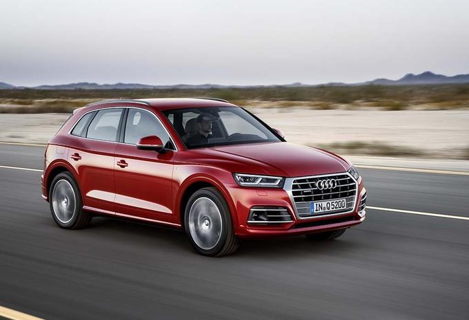 Audi op het salon van Brussel 2017 #1