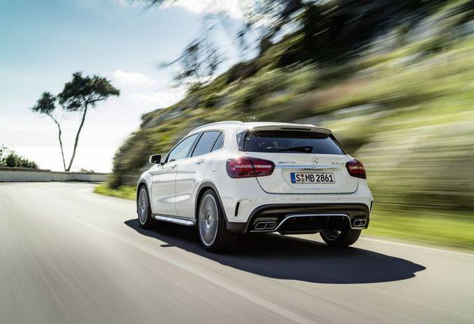 Mercedes GLA: facelift in Detroit #3