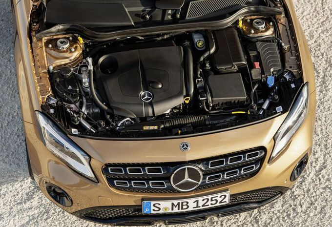 Mercedes GLA: facelift in Detroit #9