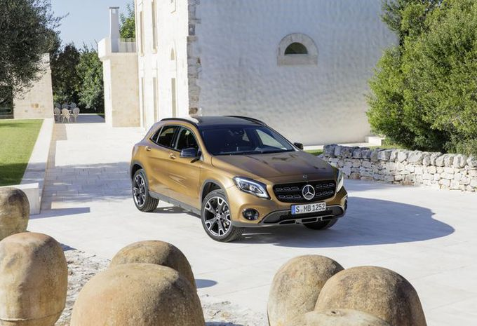 Mercedes GLA: facelift in Detroit #8