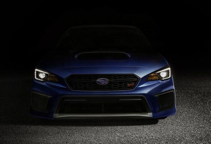 Subaru WRX en WRX STi modeljaar 2018 #5
