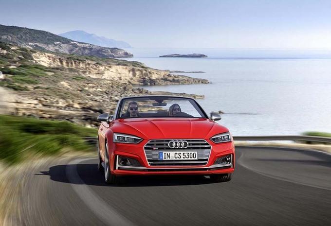 Audi S5 Cabriolet wordt 40 procent stijver #4