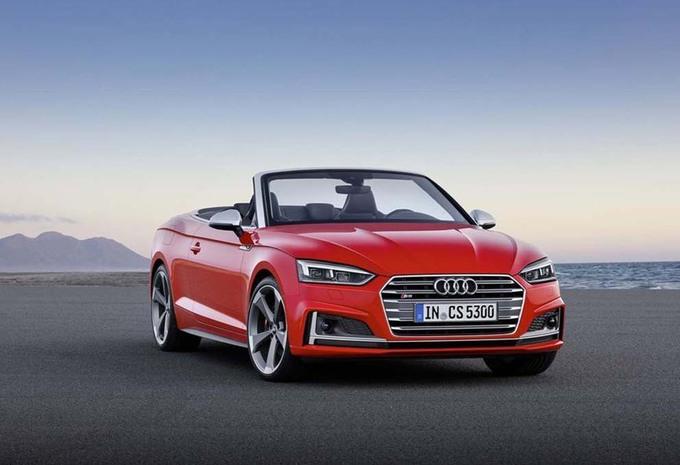 Audi S5 Cabriolet : 40% plus rigide ! #5