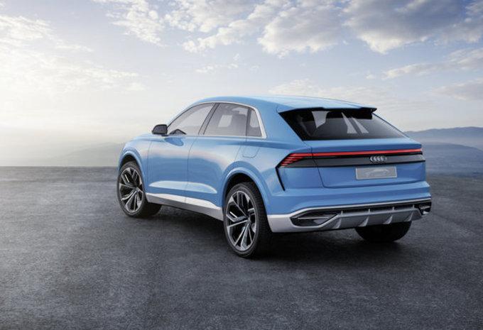 Audi Q8 Concept: voorloper van definitief model #2