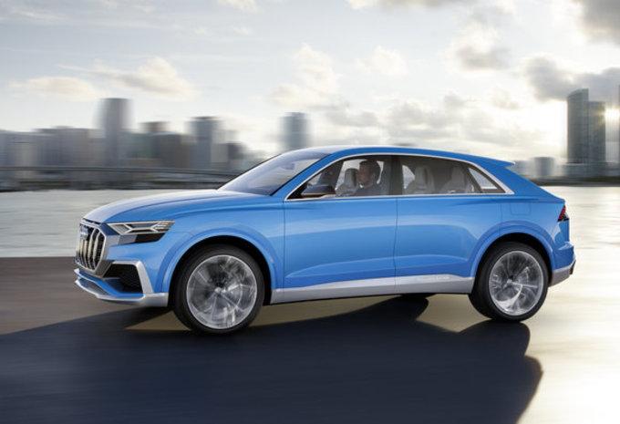 Audi Q8 Concept: voorloper van definitief model #4
