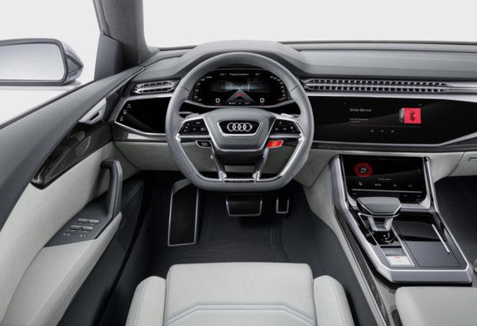 Audi Q8 Concept: voorloper van definitief model #5