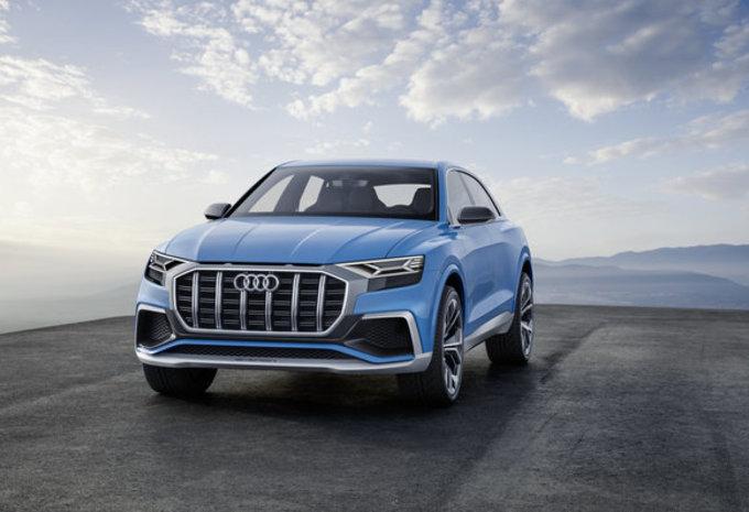 Audi Q8 Concept: voorloper van definitief model #8