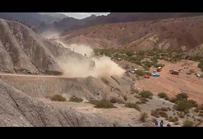 Dakar 2017: de crash van Carlos Sainz #1