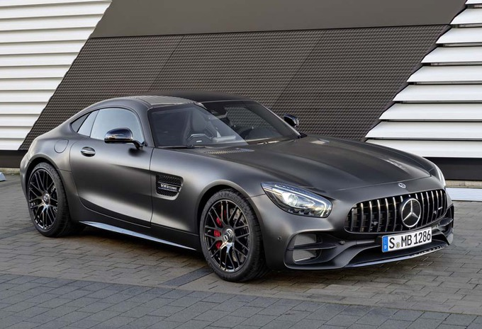 Mercedes AMG-GT C ook als coupé #2